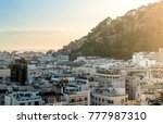 aerial view of copacabana  rio... | Shutterstock . vector #777987310