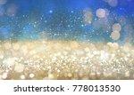 christmas light background. ... | Shutterstock . vector #778013530