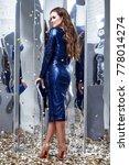 sexy fashion beautiful lady... | Shutterstock . vector #778014274