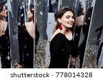 beautiful sexy woman brunette... | Shutterstock . vector #778014328