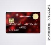 bank card abstract style vector ...   Shutterstock .eps vector #778022248