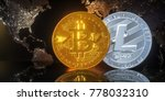 cryptocurrency   bit coin btc... | Shutterstock . vector #778032310
