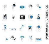 dental medicine and dentistry...   Shutterstock .eps vector #778069738