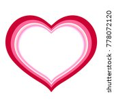 heart drawing with different... | Shutterstock .eps vector #778072120