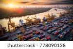 logistics and transportation of ... | Shutterstock . vector #778090138