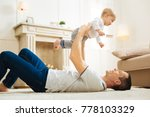 having fun. positive emotional... | Shutterstock . vector #778103329