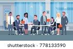 business team brainstorming... | Shutterstock .eps vector #778133590