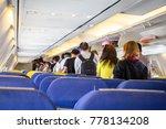 atmosphere in passenger... | Shutterstock . vector #778134208