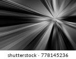 dark digital burst abstract... | Shutterstock . vector #778145236
