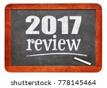 2017 review   year summary... | Shutterstock . vector #778145464