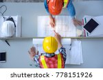 top view of group of... | Shutterstock . vector #778151926