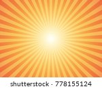 sunburst background. vector... | Shutterstock .eps vector #778155124