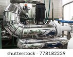 industrial refrigerating...   Shutterstock . vector #778182229