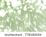 abstract shiny green background.... | Shutterstock . vector #778185034