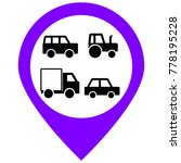 transport cars icons set.... | Shutterstock .eps vector #778195228