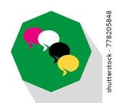speech icon vector