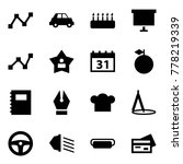origami style icon set   graph...   Shutterstock .eps vector #778219339