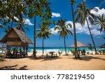 sabang beach  puerto princesa ... | Shutterstock . vector #778219450