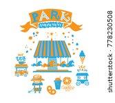 seth amusement park for the... | Shutterstock .eps vector #778230508