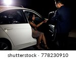 asian male gentleman assisting... | Shutterstock . vector #778230910
