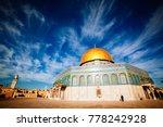 jerusalem  israel   june 4 ... | Shutterstock . vector #778242928