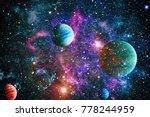 Planet Space Sun Flash Elements - Fine Art prints