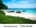 tropical  famous sea beach in... | Shutterstock . vector #778246408