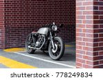 custom motorbike parking near... | Shutterstock . vector #778249834