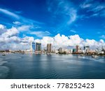 View To Dar Es Salaam From Sea.