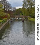 Small photo of Punting in Cambridge, England