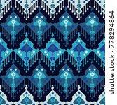 ethnic boho seamless pattern.... | Shutterstock .eps vector #778294864