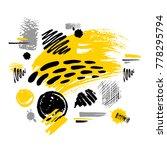abstract poster trendy art... | Shutterstock .eps vector #778295794