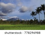 merapi volcano landscape  java  ... | Shutterstock . vector #778296988