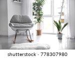 elegant interior of living room ... | Shutterstock . vector #778307980