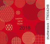 oriental style  happy new year... | Shutterstock .eps vector #778316248