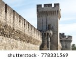 City Walls Of Avignon  France ...