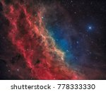 The California Nebula In The...