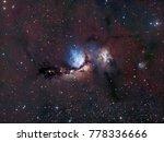 Messier 78  A Dark Reflexion...
