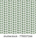 geometric leaves vector... | Shutterstock .eps vector #778337266