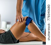 electrical stimulation in... | Shutterstock . vector #778340680