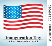 inauguration day with usa...   Shutterstock .eps vector #778349080