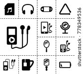 portable icons. set of 13...   Shutterstock .eps vector #778349536