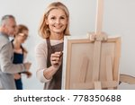 beautiful mature woman smiling... | Shutterstock . vector #778350688