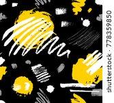 creative seamless pattern.... | Shutterstock .eps vector #778359850