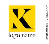 half serif logo | Shutterstock .eps vector #778384774