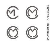 cm logo  mc logo design...   Shutterstock .eps vector #778386268