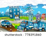 cartoon stage with different... | Shutterstock . vector #778391860