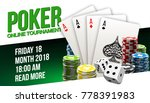 illustration online poker... | Shutterstock .eps vector #778391983