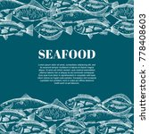 seafood design. form style | Shutterstock . vector #778408603