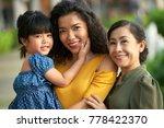 three generations of women ... | Shutterstock . vector #778422370